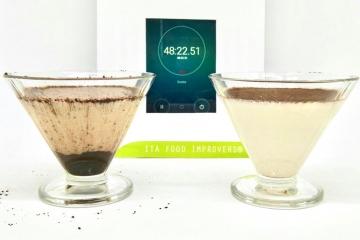 test di laboratorio sul cacao impermeabile